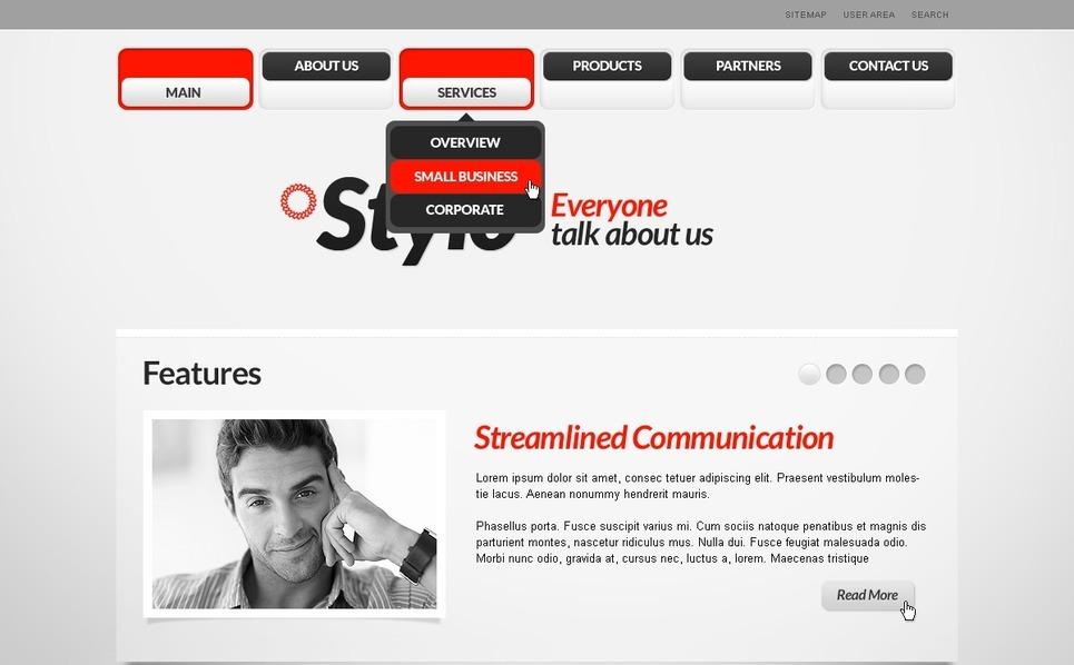 PSD Vorlage für Beratung  New Screenshots BIG
