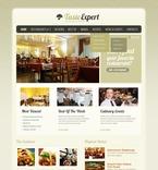 Cafe & Restaurant PSD  Template 56526