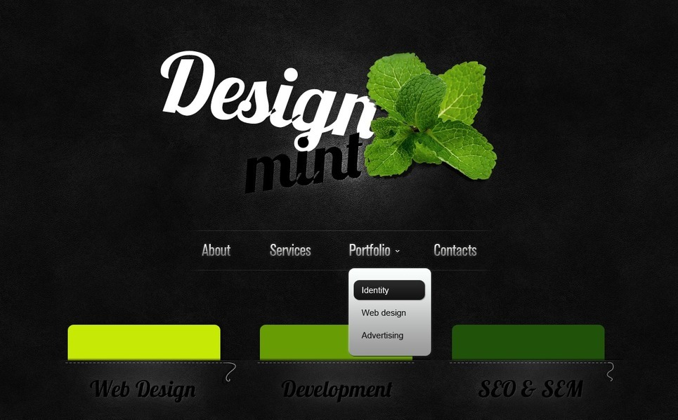 PSD Template over Web Design  New Screenshots BIG