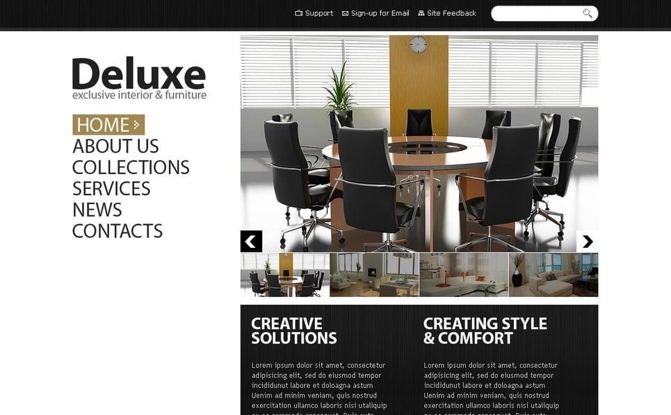 Plantilla PSD #56531 para Sitio de Diseño interior New Screenshots BIG