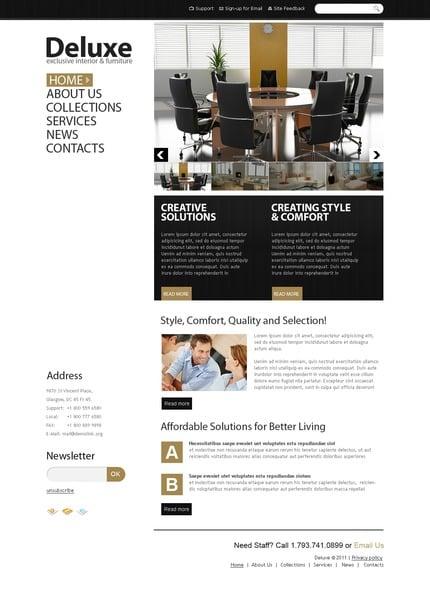 PSD макет сайта №56531