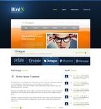 Web design PSD  Template 56538
