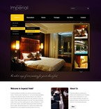Hotels PSD  Template 56543