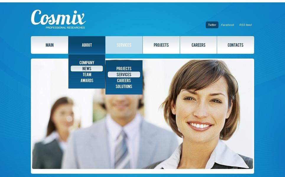 Tema PSD  #56544 per Un Sito di Business e Servizi New Screenshots BIG