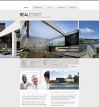 Real Estate PSD  Template 56547