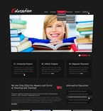 Education PSD  Template 56557