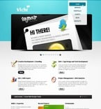 Web design PSD  Template 56562