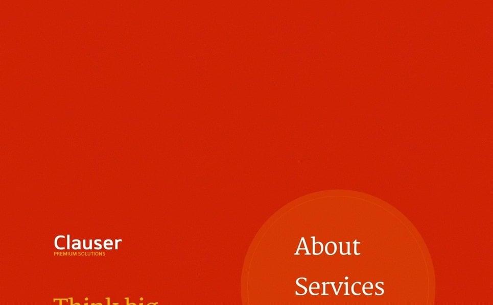 Szablon PSD #56566 na temat: usługi doradcze New Screenshots BIG