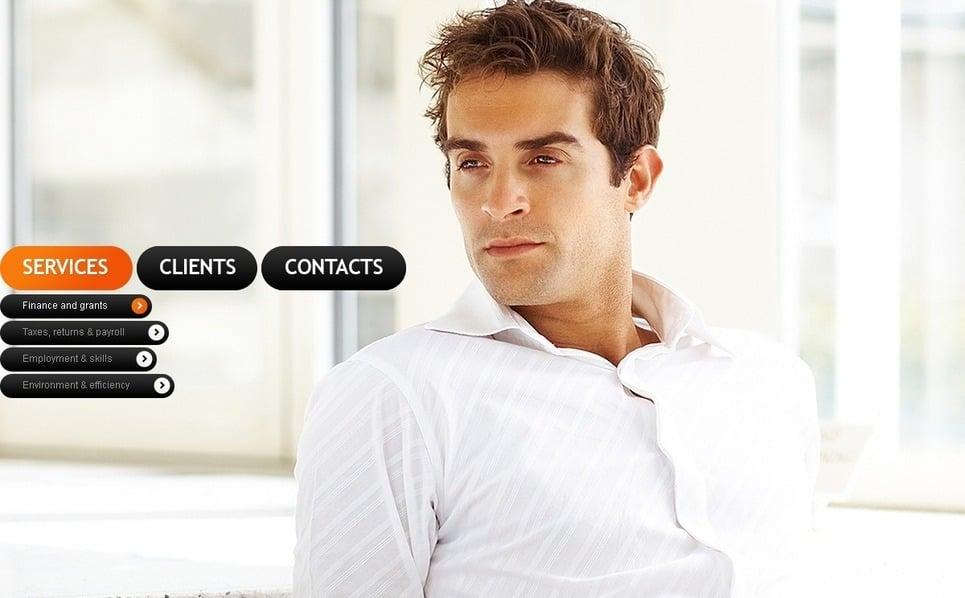Szablon PSD #56568 na temat: biznes i usługi New Screenshots BIG