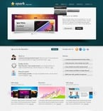 Web design PSD  Template 56569