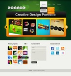 Web design PSD  Template 56574