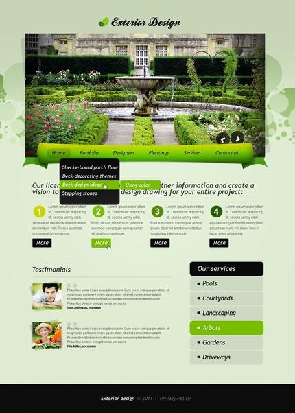 PSD макет сайта №56575