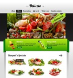 Cafe & Restaurant PSD  Template 56576