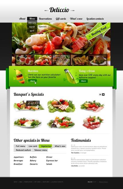 PSD макет сайта №56576