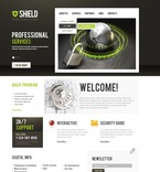 Security PSD  Template 56587