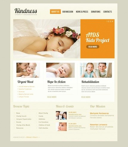 ADOBE Photoshop Template 56588 Home Page Screenshot