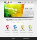 Web design PSD  Template 56597