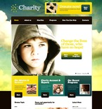 Charity PSD  Template 56598