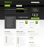 Web Hosting PSD  Template 56599