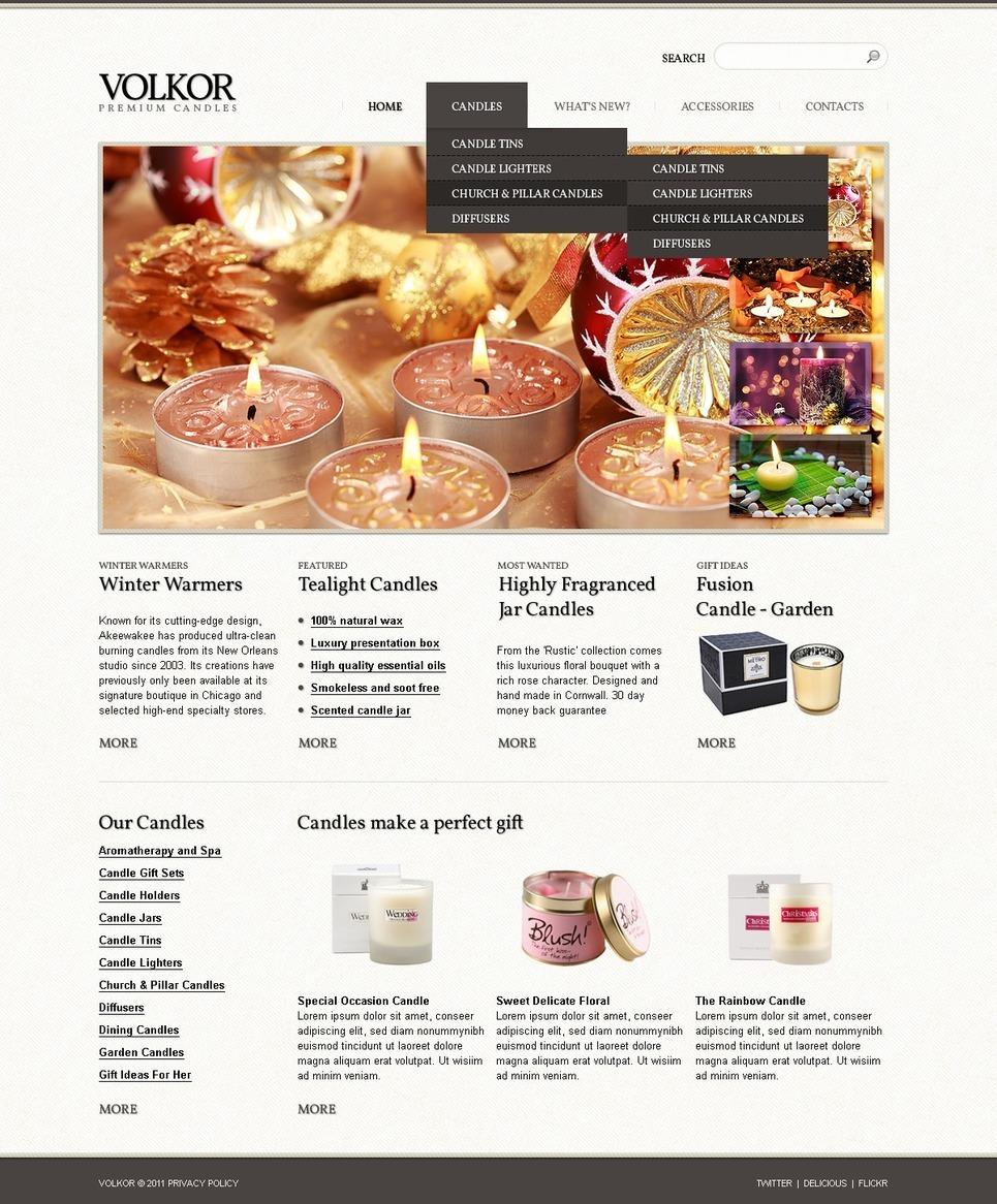 Gifts Store PSD Template New Screenshots BIG