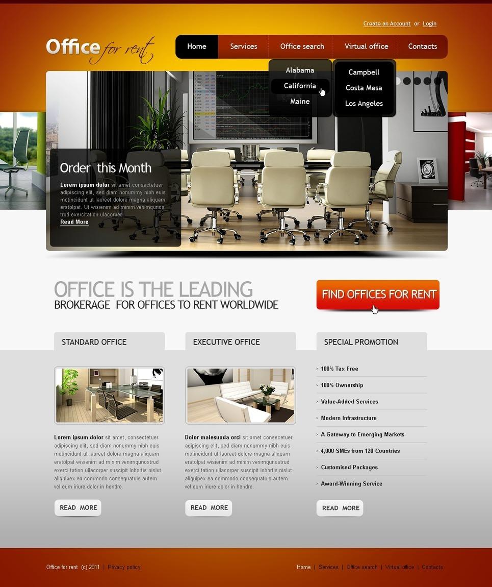 Office PSD Template New Screenshots BIG