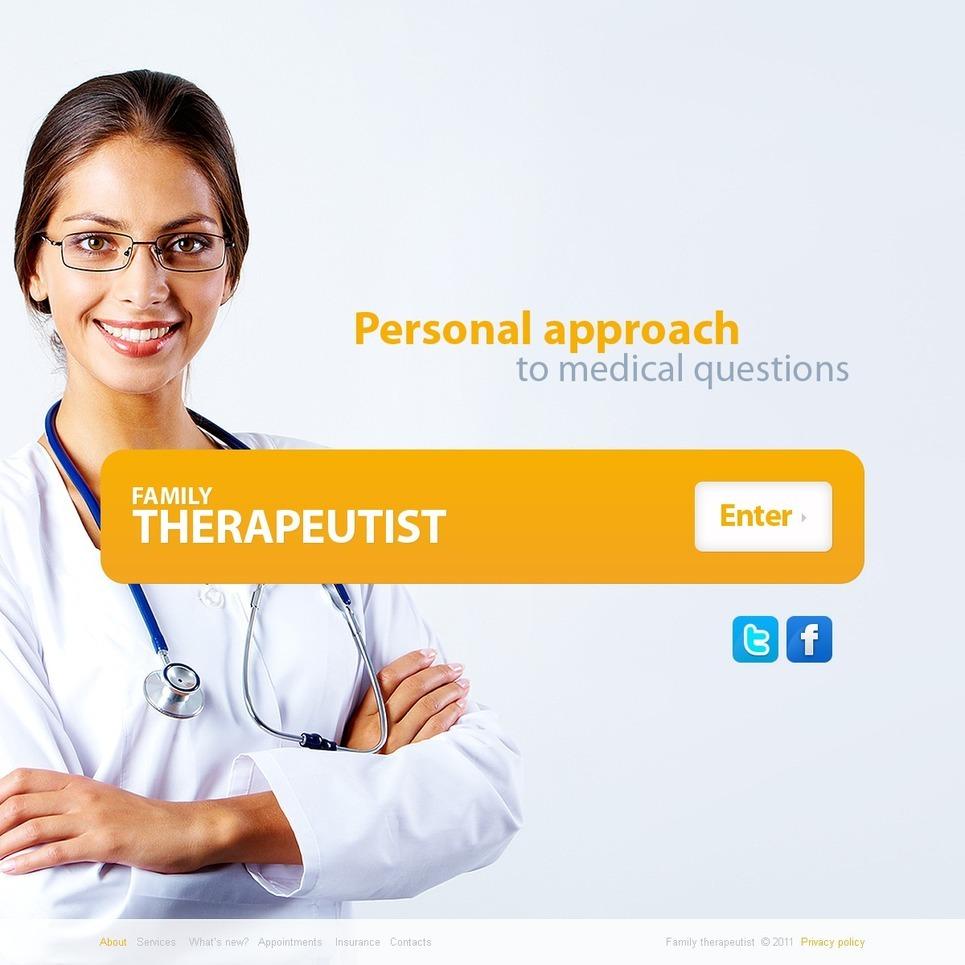 Pediatrician PSD Template New Screenshots BIG