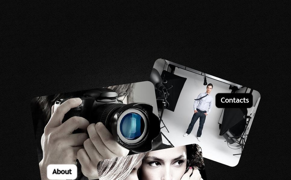 Template Photoshop  para Sites de Portfólio de Fotografo №56564 New Screenshots BIG