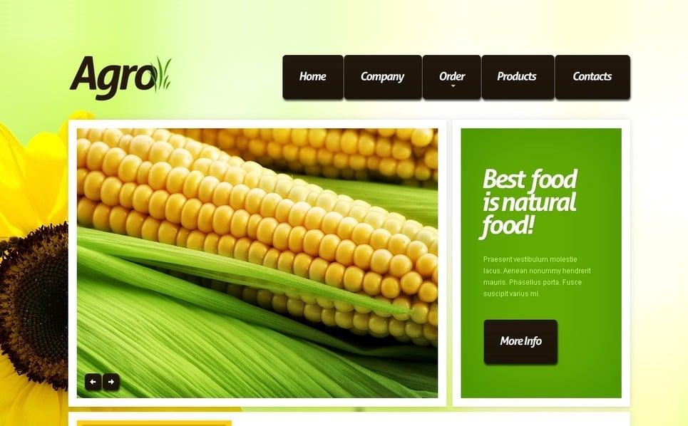 Modèle PSD  pour site agricole New Screenshots BIG