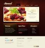 Cafe & Restaurant PSD  Template 56608