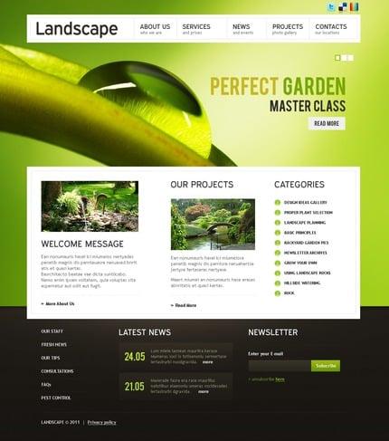 PSD макет сайта №56610