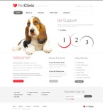Animals & Pets PSD  Template 56620