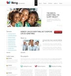 Charity PSD  Template 56643