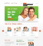 Dating PSD  Template 56651