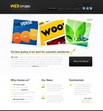 Web design PSD  Template 56652