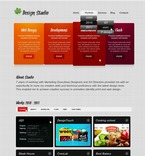 Web design PSD  Template 56654