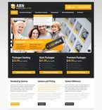 Security PSD  Template 56659