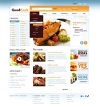 Food & Drink PSD  Template 56665