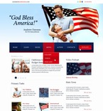 Politics PSD  Template 56668