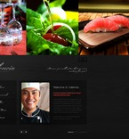 Cafe & Restaurant PSD  Template 56672