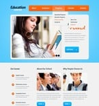 Education PSD  Template 56684