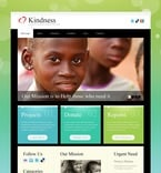 Charity PSD  Template 56687