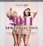 Fashion PSD  Template 56688