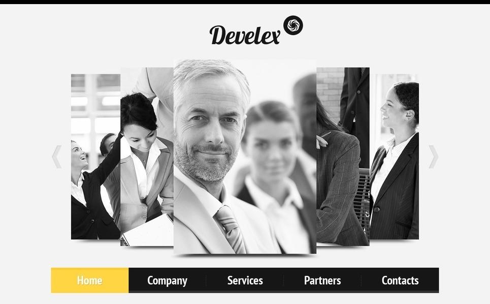 Plantilla PSD #56690 para Sitio de Negocio y Servicios New Screenshots BIG