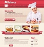 Food & Drink PSD  Template 56698