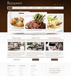 Cafe & Restaurant PSD  Template 56710