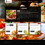 Cafe & Restaurant PSD  Template 56716
