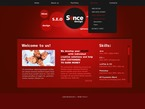 Web design PSD  Template 56718