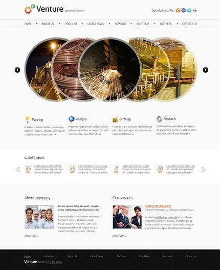 PSD макет сайта №56722