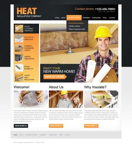 PSD макет сайта №56727