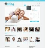 Dating PSD  Template 56735